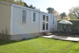Rental - Mobil Home 34M² (3 Bedrooms) + Terrace - Camping La Touesse