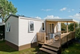 Rental - Mobil Home 34M² Confort (3 Bedrooms) + Sheltered Terrace + Lave Vaisselle - Camping La Touesse