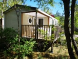 Rental - Mobile-home 2 bedrooms + terrace - Camping Le Barralet