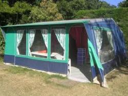 Rental - Equipped Tent for rent - Camping Le Mondou