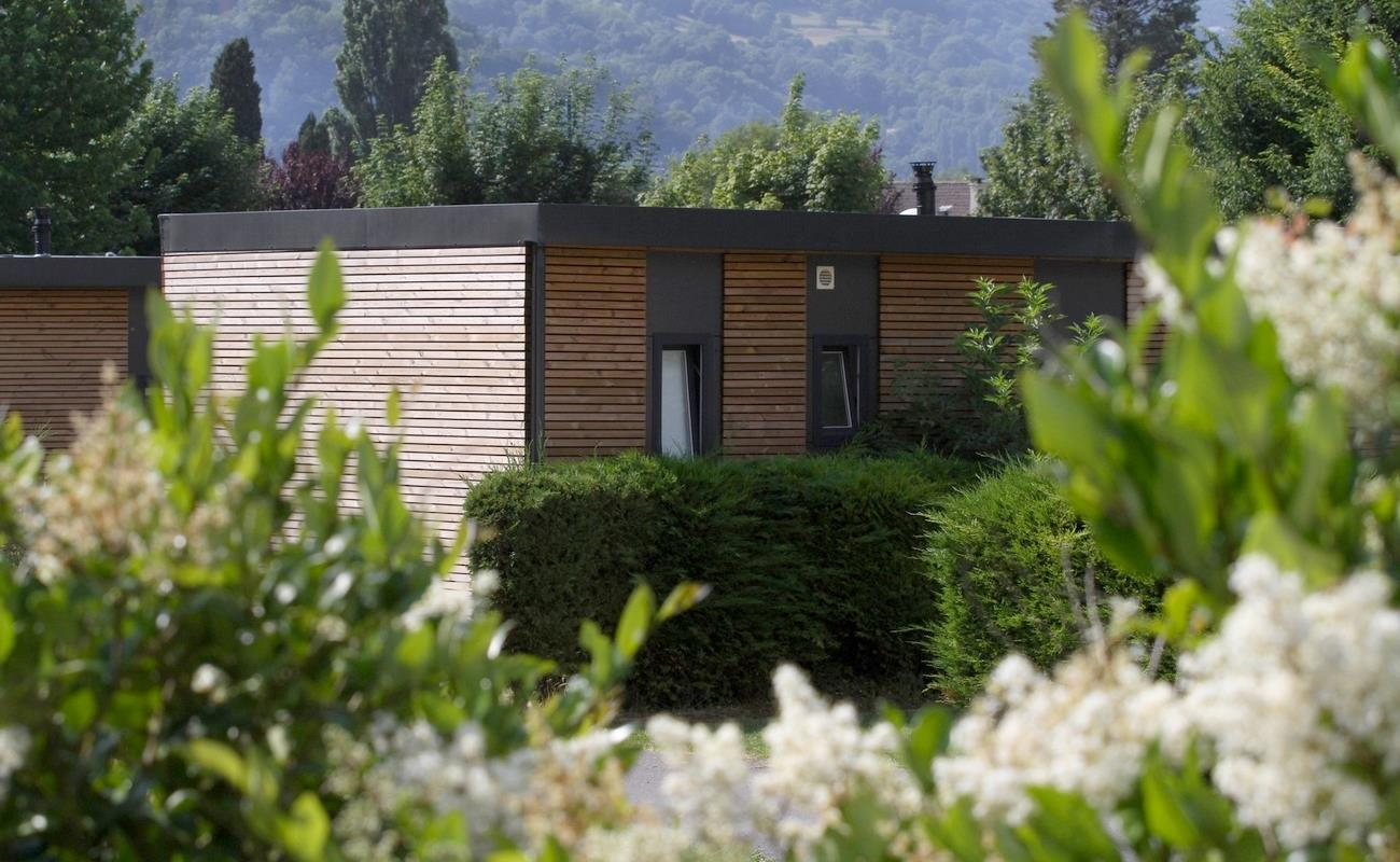 Mobile-home Pyrénées Luxe 3 chambres+2Sdb 40m² 6 pers