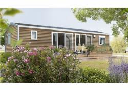 Locatifs - Mobile-home Pyrénées Luxe neuf 3 chambres+2Sdb 40m² 6 pers - Camping SOLEIL DU PIBESTE