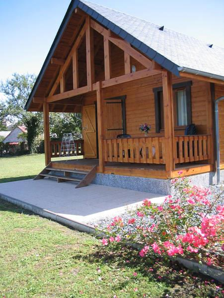 Rental - Chalet  Cottage Confort 35 M² - Camping Du Lac ****