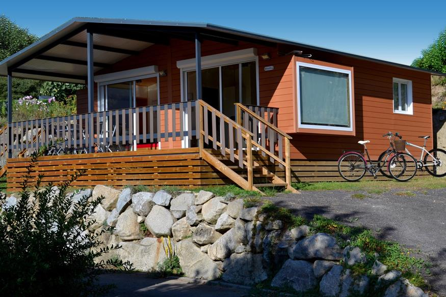 Huuraccommodaties - Chalet Comfortplaats - Camping L'IDEAL
