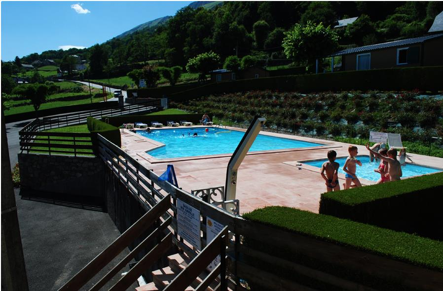 Mare, piscina Camping L'ideal - Arras En Lavedan