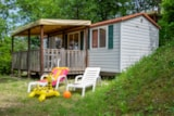 Rental - Mobilhome Ginestra 24m² - Camping Barco Reale