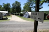 Pitch - Pitch + vehicle + electricity - Camping des Bastides