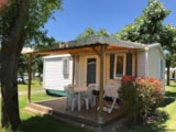 Rental - Mobil Home Grand Confort (2 Rooms) - Camping LE MONLOO