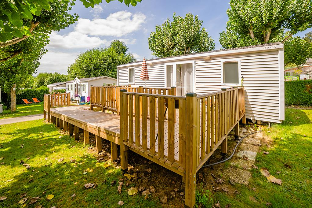 Location - Mobil Home Life (2 Chambres) 4 Pers. - Camping Le Monlôo