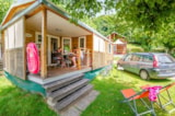 Rental - Mobil Home Bois (2 Rooms) - Camping LE MONLOO