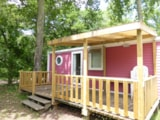 Rental - Mobile home KETCH 2 bedrooms-Rate for 4 adults and 2 children less than 12 years - Camping Les Chèvrefeuilles