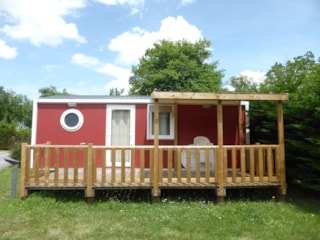 Mobile home KETCH 2 bedrooms-Rate for 4 adults and 2 children less than 12 years