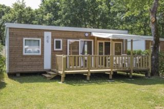 Mobil-home GOELETTE3 bedrooms - Rate for 6 adults and 2 children less than 12 years