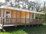 Rental - MOBIL HOME SLOOP DUO 1 bedroom - Rate for 2 adults + 2 children less than 12 years - Camping Les Chèvrefeuilles