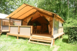 Tent Lodge 30M²  Without Toilet Blocks + Wifi