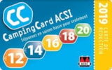 Pitch - Acsi Card: 2 Pers + Car+ Caravan Or Tent / 2 Pers + Motorhome, Electricity And One Dog Includ - Camping Val de Boutonne