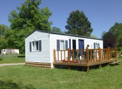 Huuraccommodaties - Le Prunellier - Camping Vert Auxois