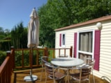 Rental - Mobile Home Le Peuplier - Camping Vert Auxois