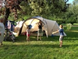 Pitch - Pitch duo : 2 people: one tent + one auto ou 2 motos - Camping Vert Auxois