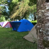 Pitch - Pitch  Trekking Package : 2 people: one tent + bikes - - Camping Vert Auxois