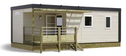 Location - Mobil Home Cottage Dimanche - Camping Bel Air