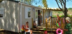 Location - Mobil Home Family Climatisé Dimanche - Camping Bel Air