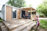 Rental - Les Premiums Sunday: Mobil-home O'Hara 2 bedrooms - Flower Camping La Clairière
