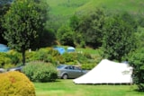 Pitch - Package caravan or  tent + car - Camping PYRENEES NATURA