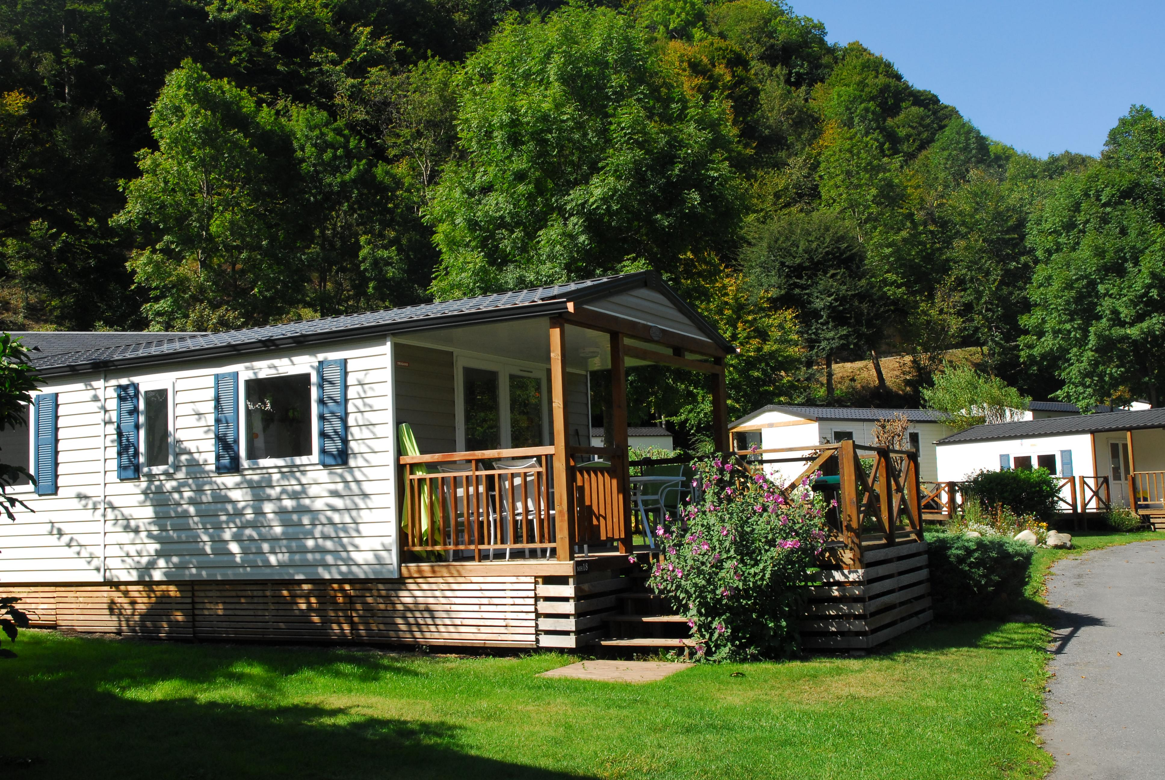 Locatifs - Mobile-Home - Camping PYRENEES NATURA
