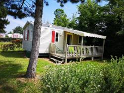 Accommodation - Mobil-Home Ilôt Confort+ 2 Bedrooms 25M² - Flower Camping Cabestan