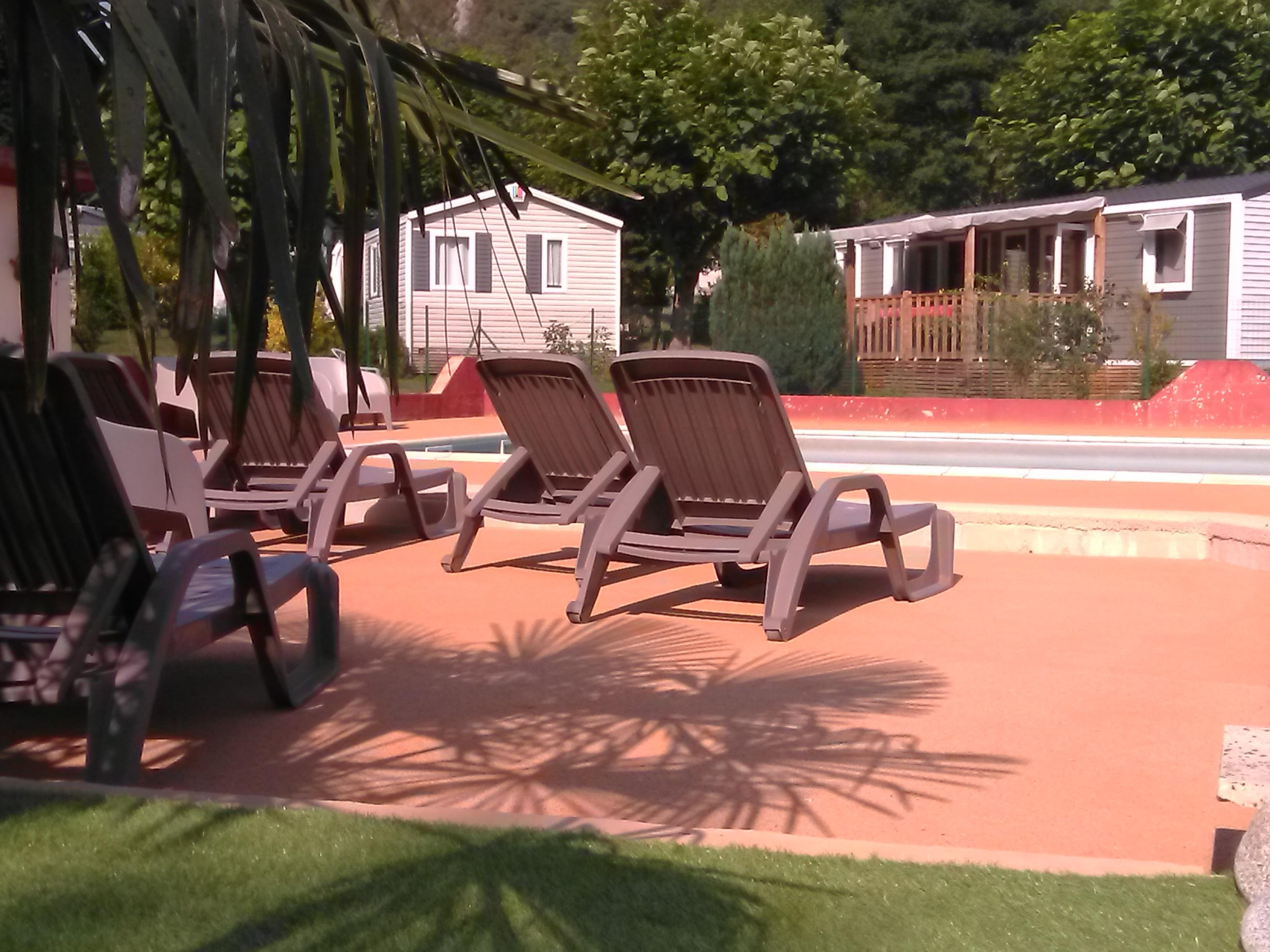Mare, piscina Camping La Bourie - Heches