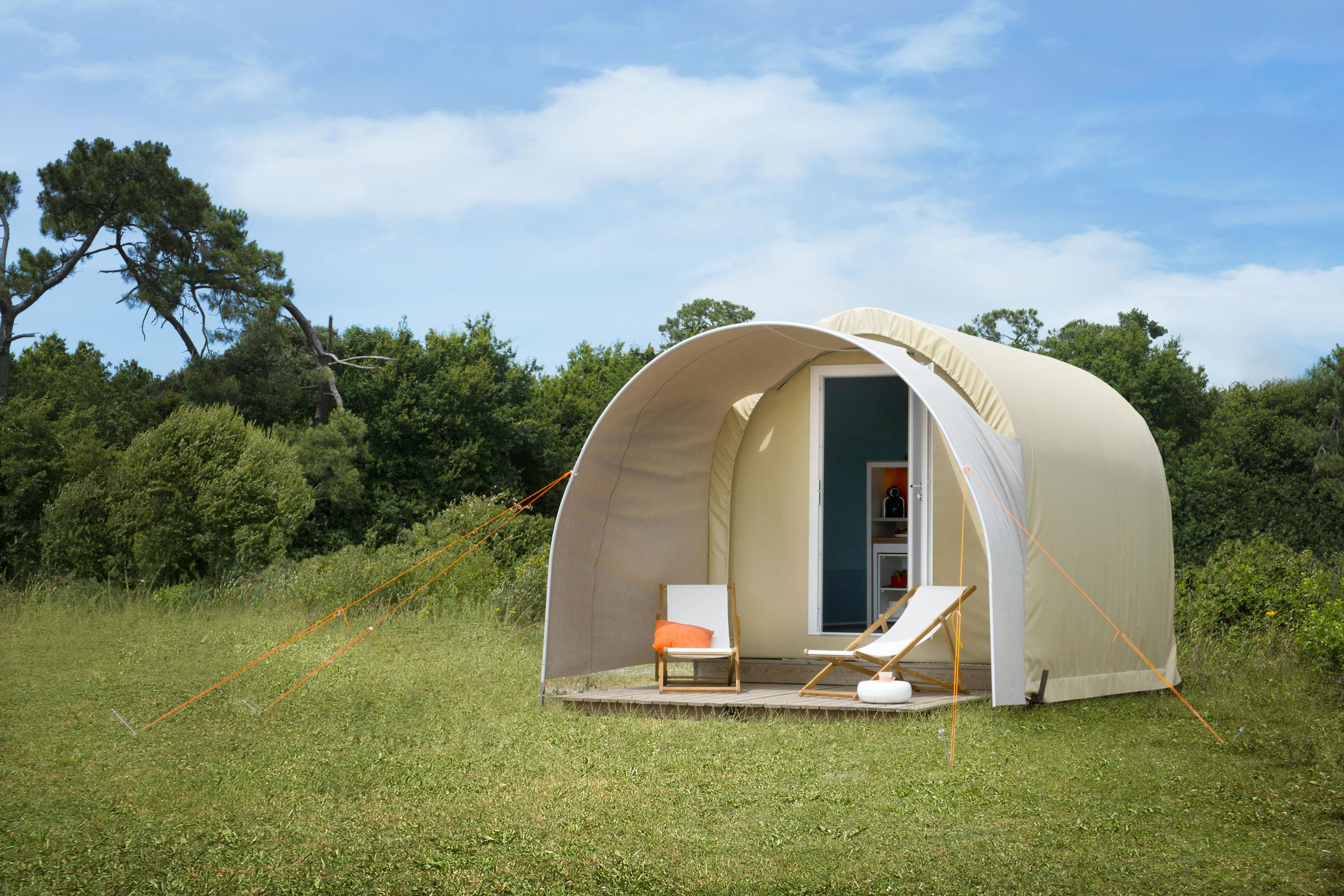 Locatifs - Lodge Coco Sweet Duo - Camping L'Arrouach