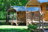 Rental - Wooden hut - Camping Sites et Paysages LA FORÊT LOURDES