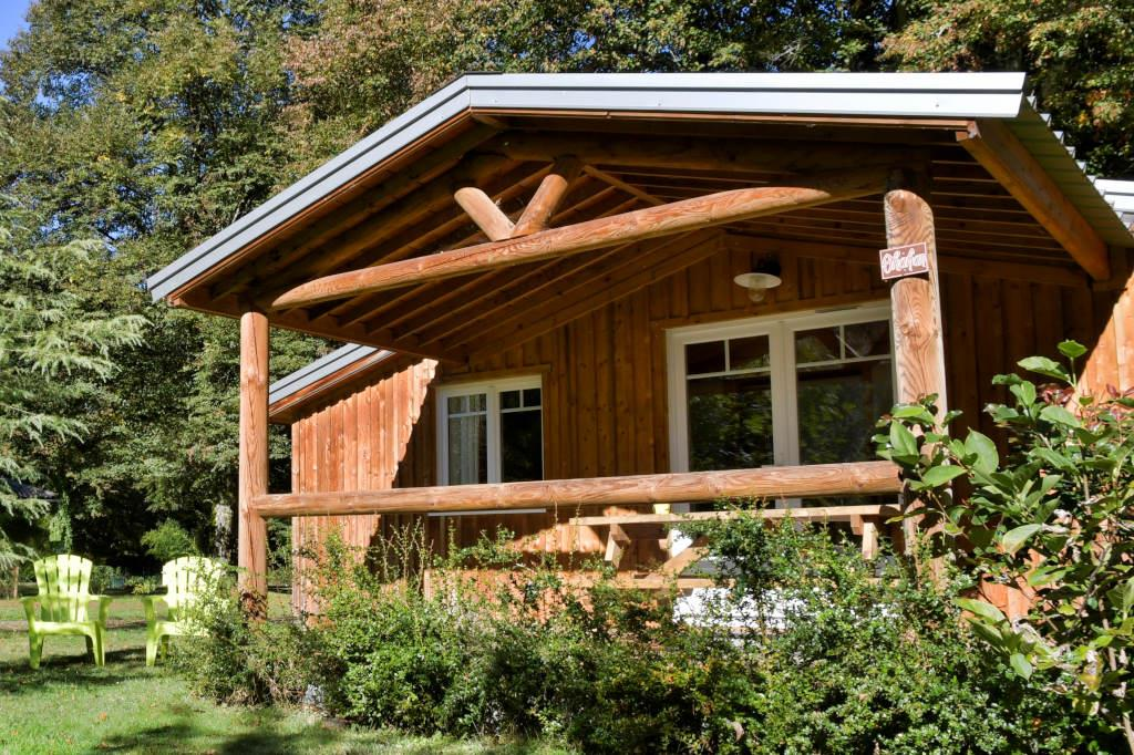 Location - Chalet Shakan - 2 Chambres - Camping Sites et Paysages La Forêt
