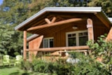 Rental - Chalet Shakan - 2 Rooms - Camping Sites et Paysages LA FORÊT LOURDES