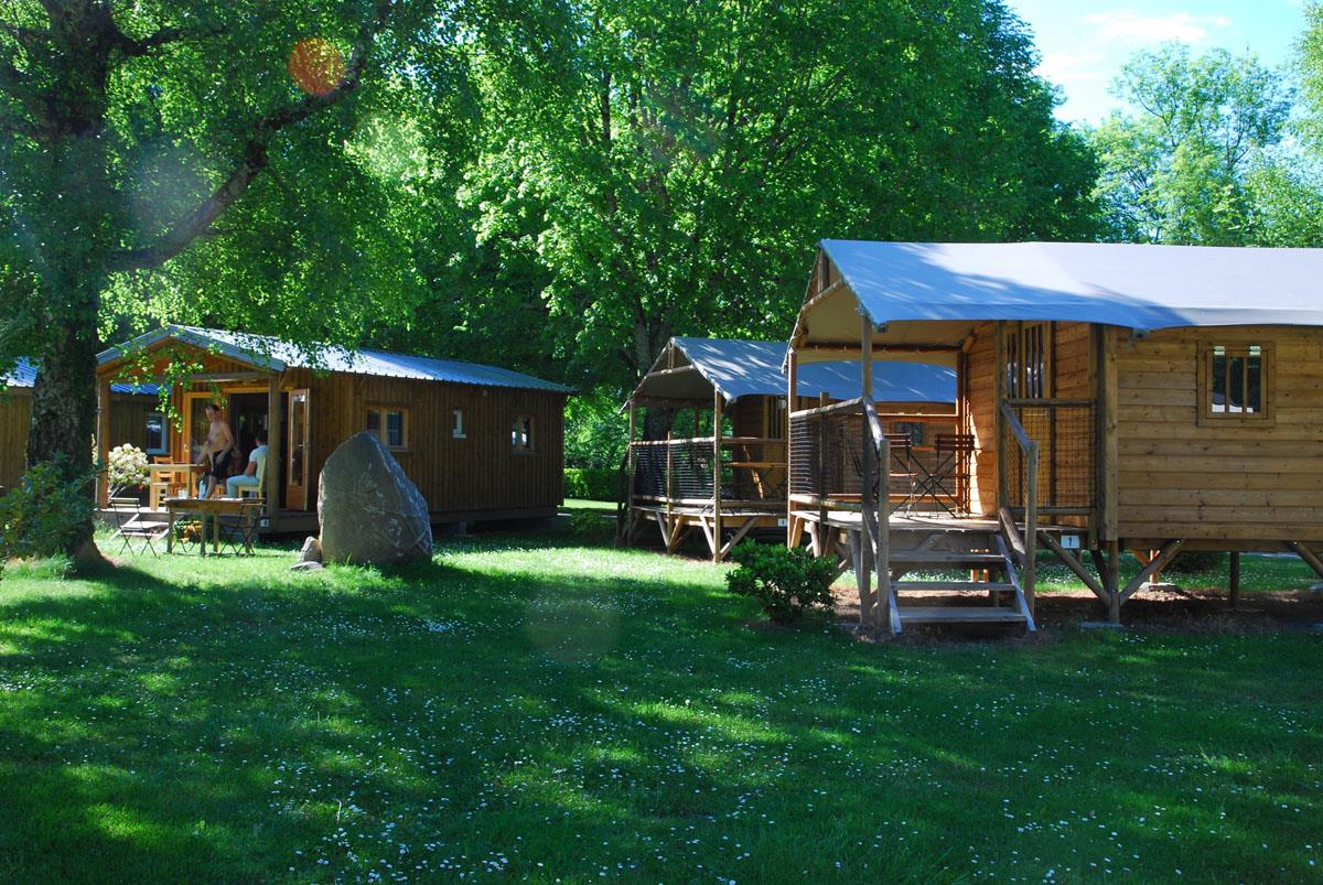 Establishment Camping Sites Et Paysages La Forêt Lourdes - Lourdes