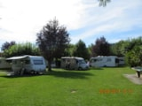 Pitch - Pitch with electricity 6A - Camping LE MOULIN DU MONGE