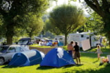 Pitch - Pitch : Car + Tent/Caravan Or Camping-Car - Camping LE VIEUX BERGER