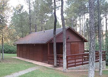 Huuraccommodatie - Cabane Type A - Camping Cuenca