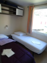 Rental - Mobile home OPHEA 7 - Camping A l'Ombre des Tilleuls
