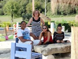 Reception team Camping A L'ombre Des Tilleuls - Peyrouse