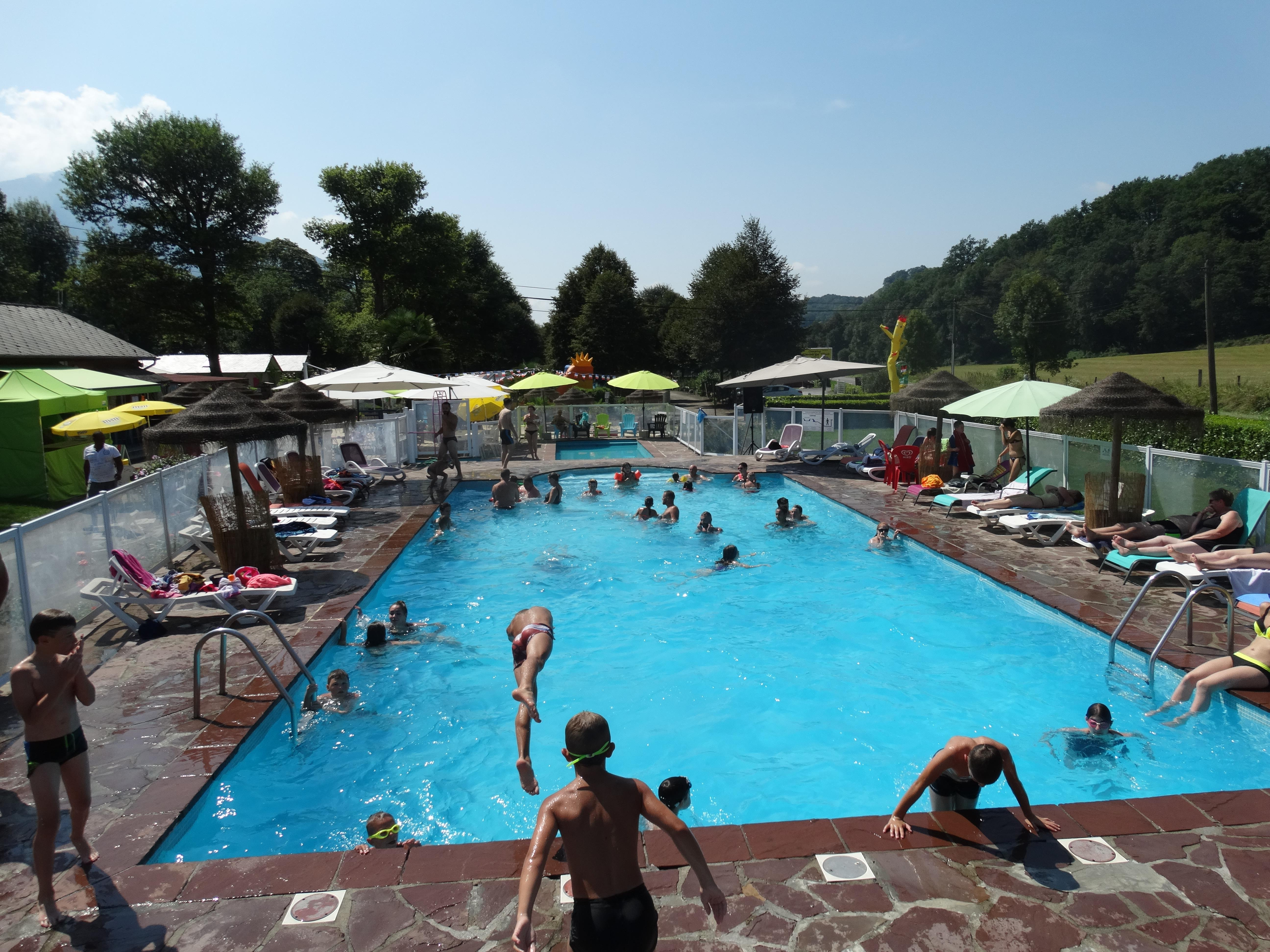 Mare, piscina Camping A L'ombre Des Tilleuls - Peyrouse