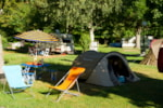 Pitch - Package 1 - NATURE : Pitch + car + tent or caravan - Camping LE HOUNTA