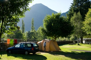 Package 5 - Coffee : Pitch + Car + Tent Or Caravan + Electricity 4 A