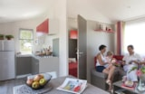 Rental - Mobile-home Bahia - 3 bedrooms - Camping Ferme Pédagogique de Prunay