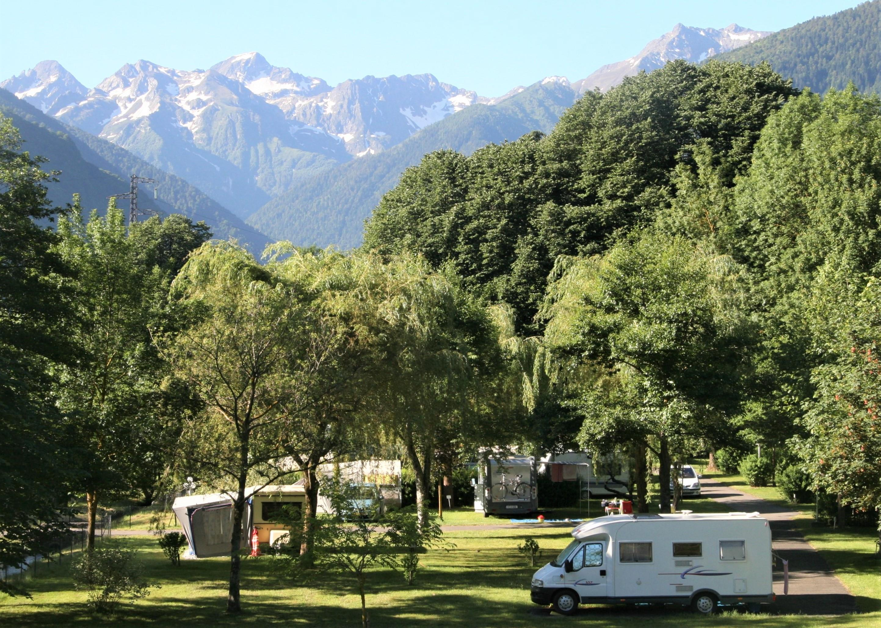 Emplacement camping