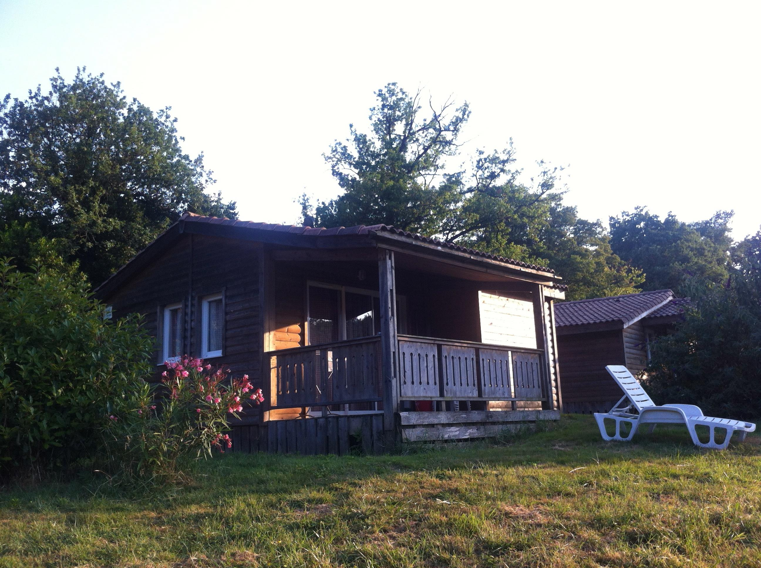 Chalet Forester in wood with terrace - 30m²
