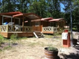 Rental - Chalet Moréa 25M² With Terrace - Camping NAMASTE