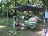 Pitch - Camping Plot:  80M². 1 Or 2 People + Tent Or Caravan Or Campervan + 1 Car. - Camping NAMASTE