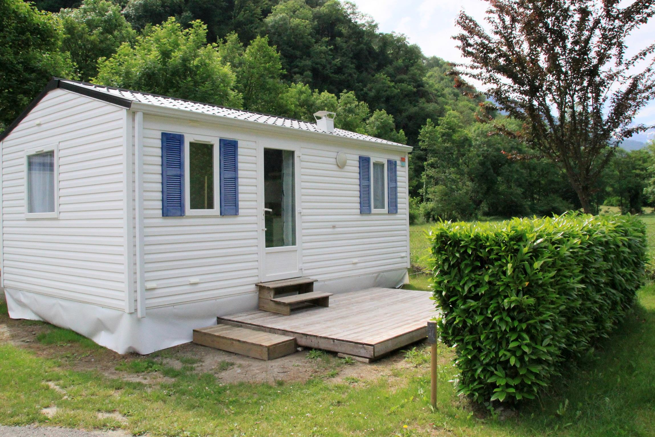 Location - Mobil-Home Bikini 2-4 Places 2 Chambres - Camping LE PYRENEEN
